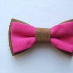 papion dublu maro cu roz