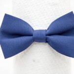 papion-minimat-albastru-inchis-bleomarin-simplu