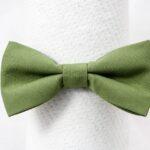 papion-minimat-verde-olive-simplu