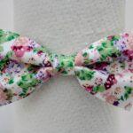 papion-poplin-floricele-alb-si-rosi